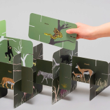 Stackable AR_Augmented Reality_ Word Cards_ ROOMY PUZZLE CARD